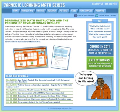 Carnegie Learning Math Series for Grades 6-8
